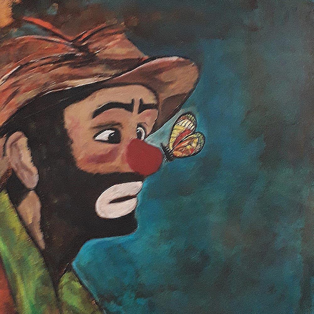 Clown von Christine Adler