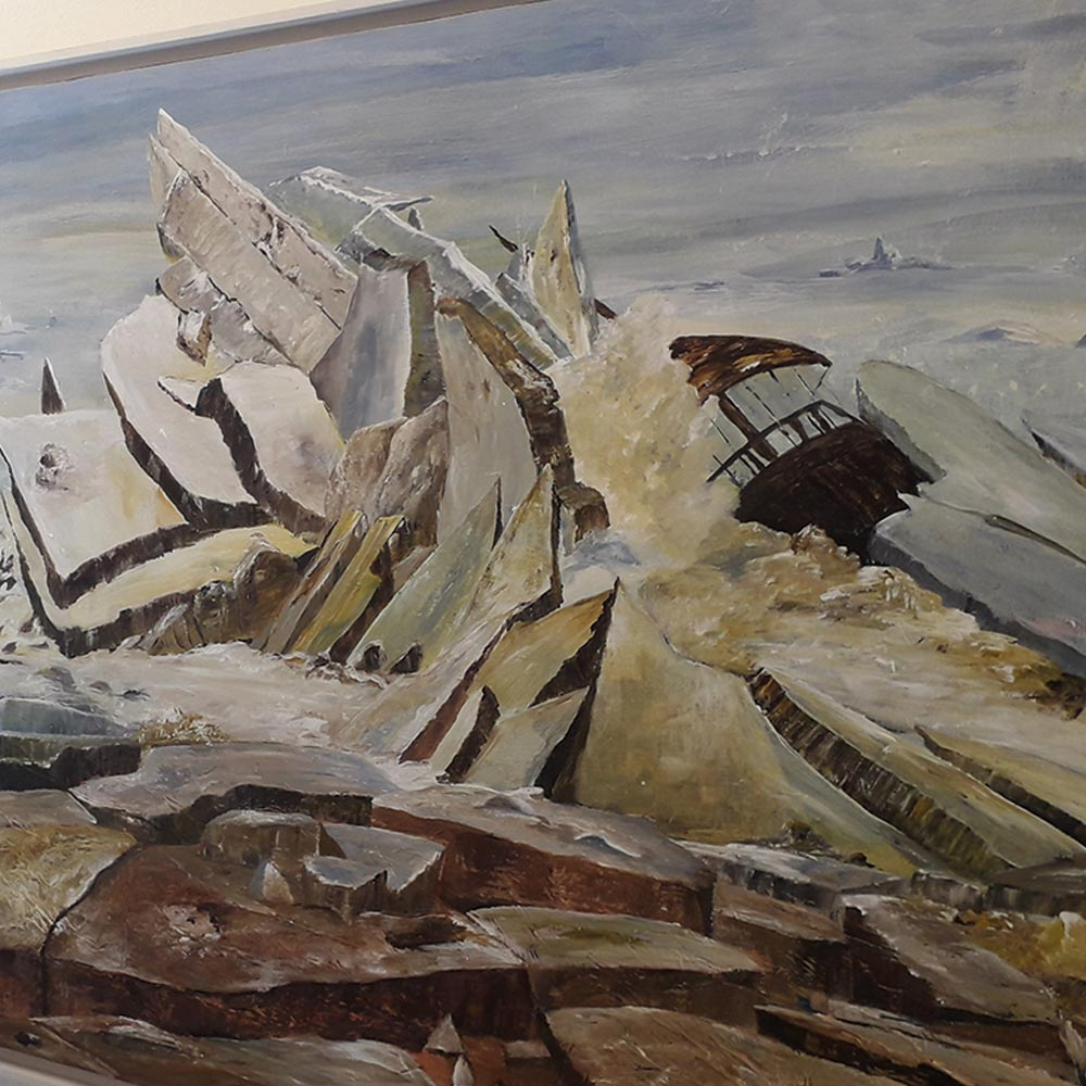 Eisberge von Christine Adler