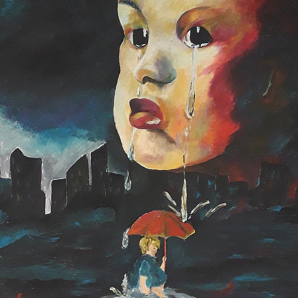 Traurigkeit von Christine Adler